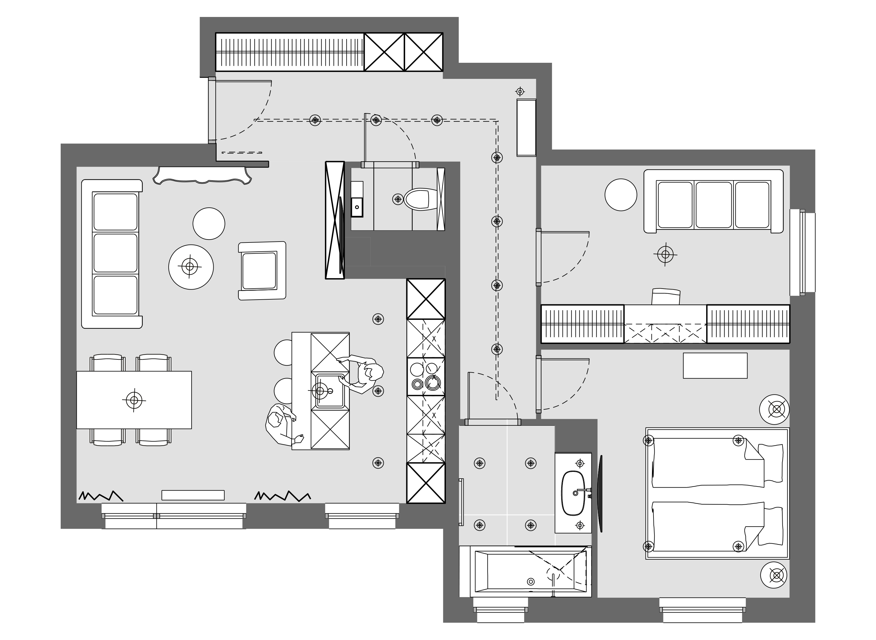 apartament dla dwojga rzut mieszkania