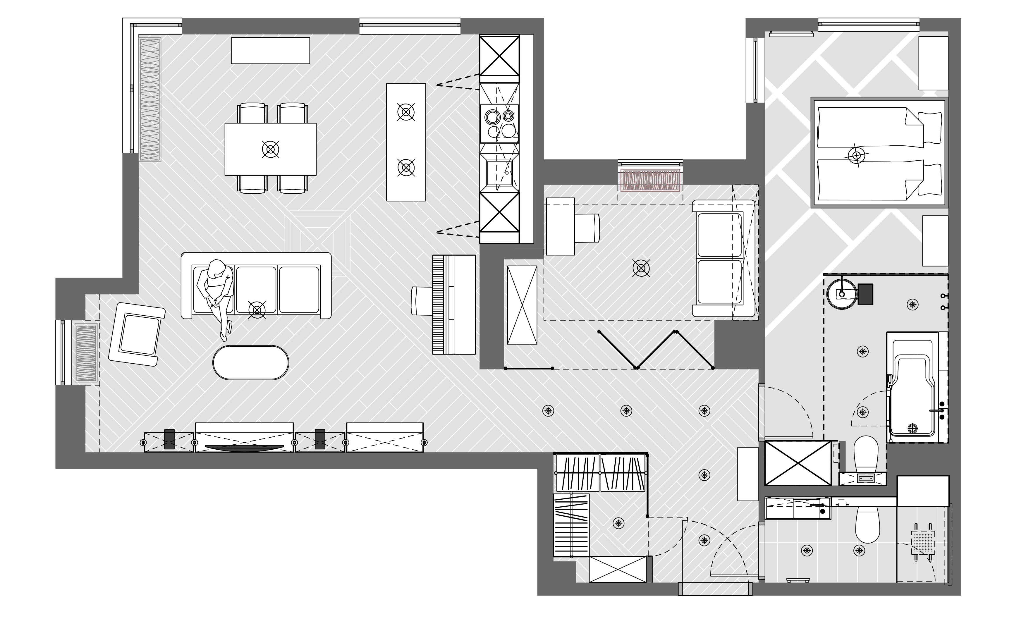 układ funkcjonalny mieszkania